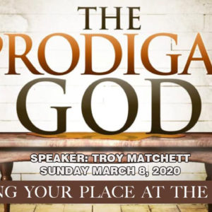 The Prodigal God – The real older brother